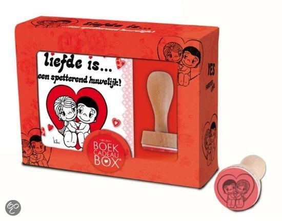 Bol liefde is een spetterend huwelijk mini boek