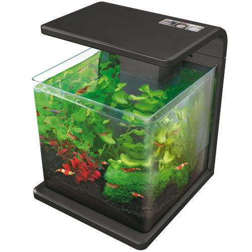 superfish wave aquarium 15 liter zwart. Black Bedroom Furniture Sets. Home Design Ideas