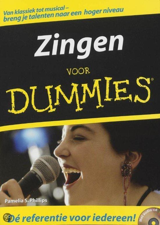 Zingen voor Dummies + CD