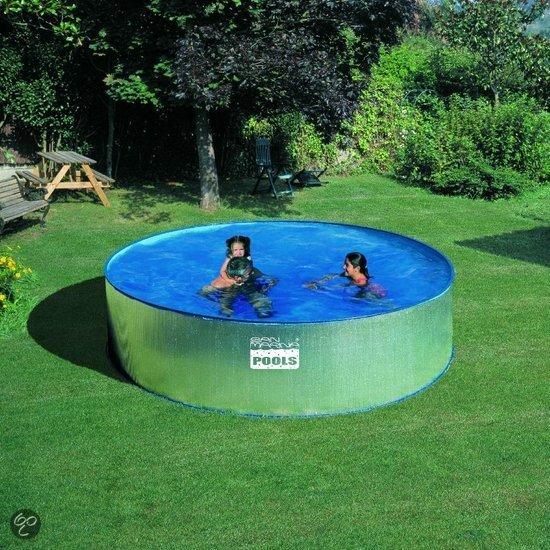 San marina pools zwembad opzetzwembad carib rond for Marinal piscine