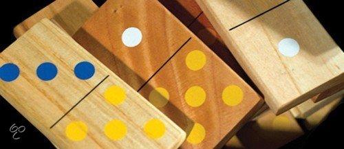 Afbeelding van het spel Domino Groot - ECO Hout