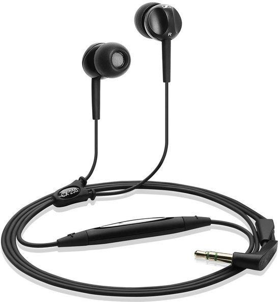 Sennheiser CX 250 - In-ear Oordopjes - Zwart