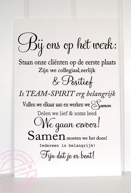 Tekstbordengroothandel.nl Wand- of plafonddecoratie Tekstbord bij ons ...