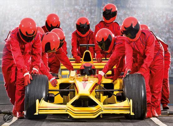 Ravensburger - Formule 1 Team Puzzel