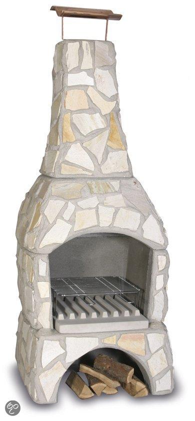 HTW Tuinhaard betonnen barbecue Nature type X