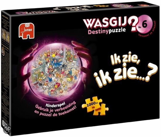 Destiny Wasgij 6 Kinderspel - Puzzel - 1000 stukjes