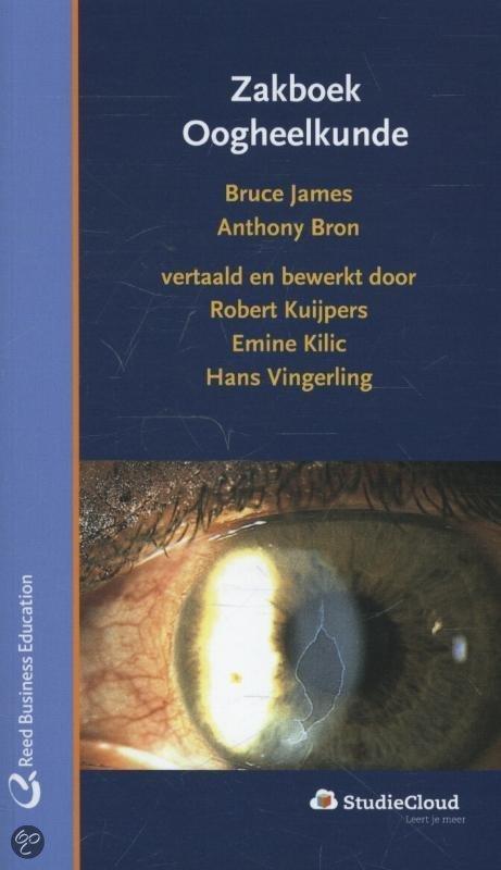 Zakboek oogheelkunde