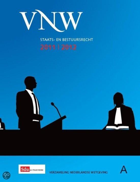 Verzameling Nederlandse Wetgeving 2011-2012