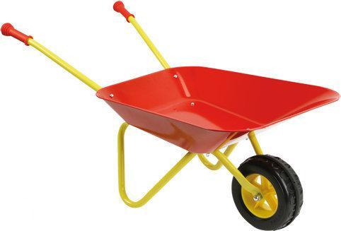 Kinderkruiwagen - Rood/Geel