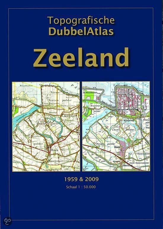 Topografische Dubbelatlas Zeeland / 1959-2009 1:50.000