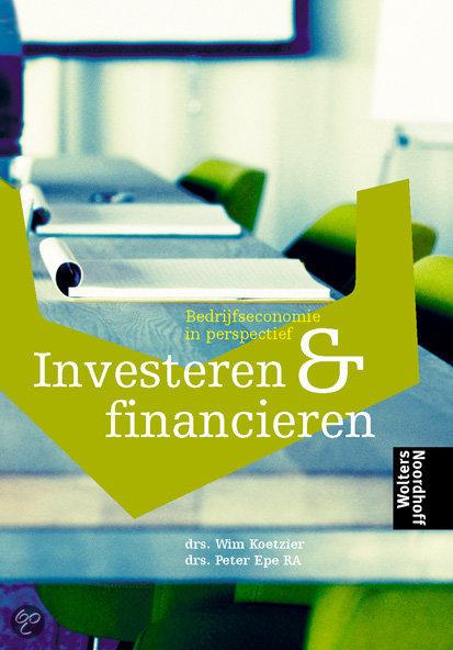 Investeren En Financieren