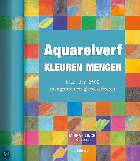 Aquarelverf Kleuren Mengen