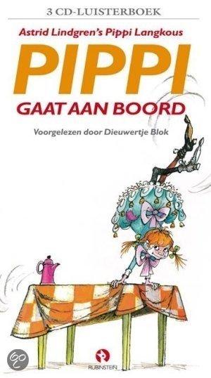 Pippi Langkous gaat aan boord 2 cd's (luisterboek)