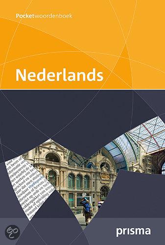 Prisma pocketwoordenboek Nederlands BE