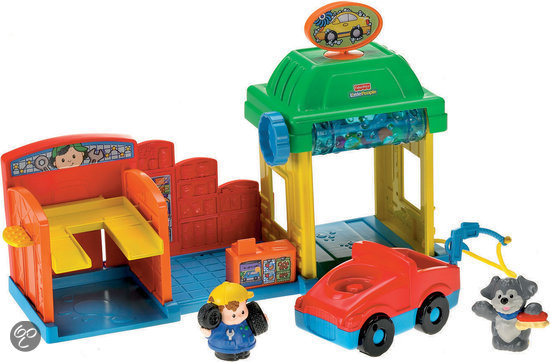 Fisher-Price Little People Autowasstraat