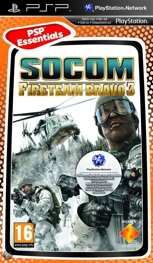 Socom: U.S. Navy Seals Fireteam Bravo 3 - Essentials Edition