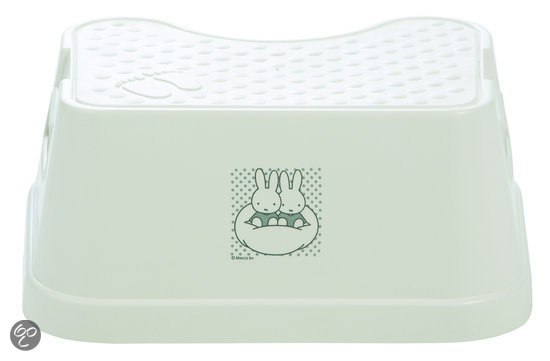 bébé-jou Opstapje Nijntje - Wit / Zilver