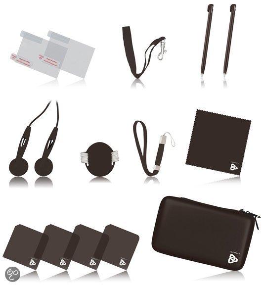 Playfect 14-delig Accessoirepakket Bruin DsiXL
