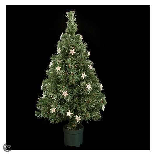 bol com   Christmas House   Mini Kunstkerstboom 60 cm hoog   Met verlichting