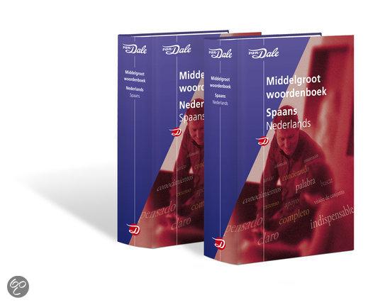 Van Dale Middelgroot woordenboek Spaans (set)