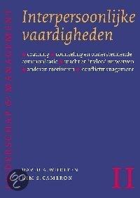 Leiderschap en Management II. Interpersoonlijke vaardigheden