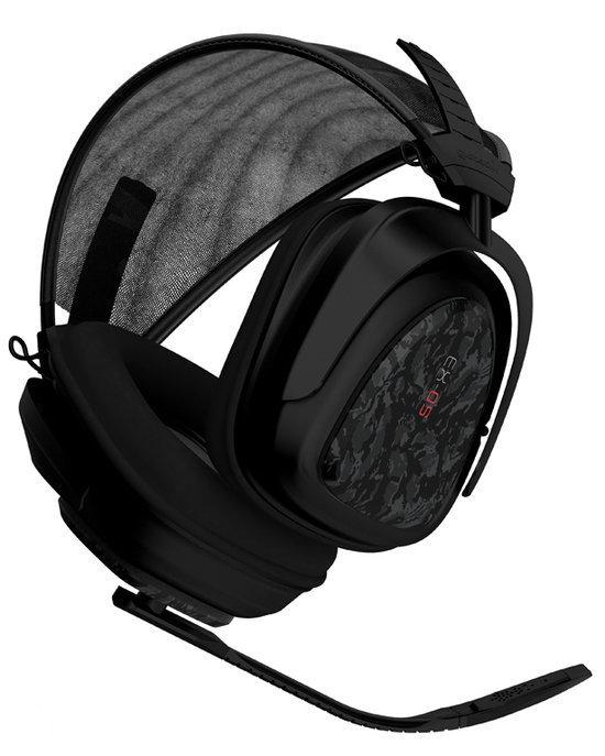 Gioteck Ex-05 Headset Zwart PC + PS3 + Xbox 360