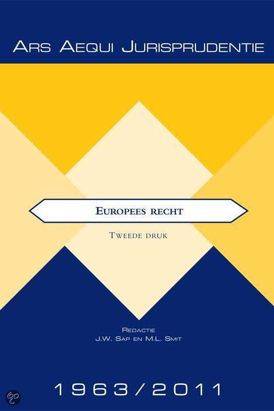 Europees recht 1963-2011