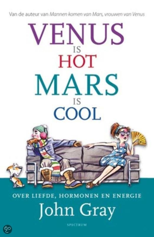 Venus is hot, Mars is cool