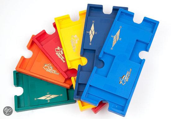 Afbeelding van het spel Set van 4 Nederlandse Bridge Bond Boards, rood