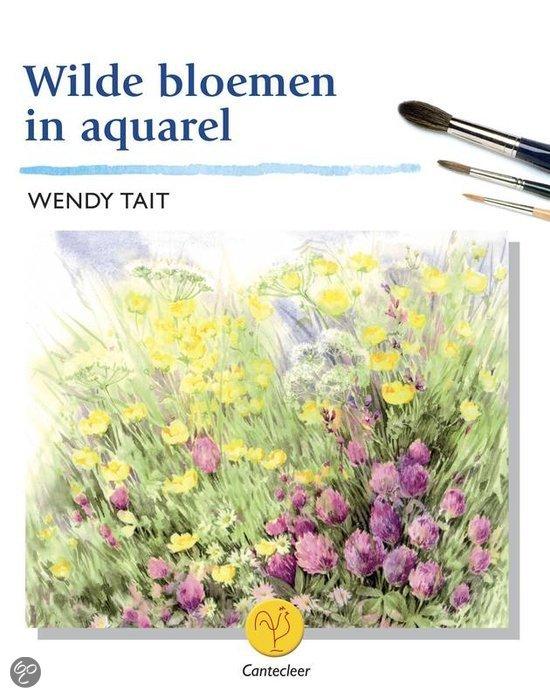 Wilde Bloemen In Aquarel