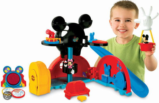 Fisher-Price Mickey Mouse Clubhuis Speelset