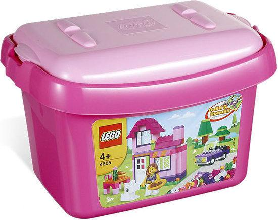 LEGO Roze Opbergdoos - 4625