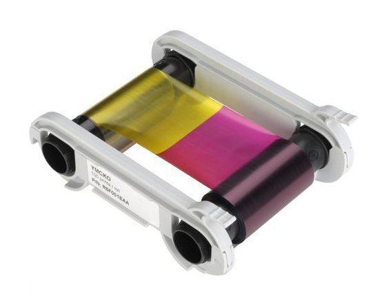 R5F008EAA (5 panel) kleuren printlint voor de Evolis Primacy kaartprinter
