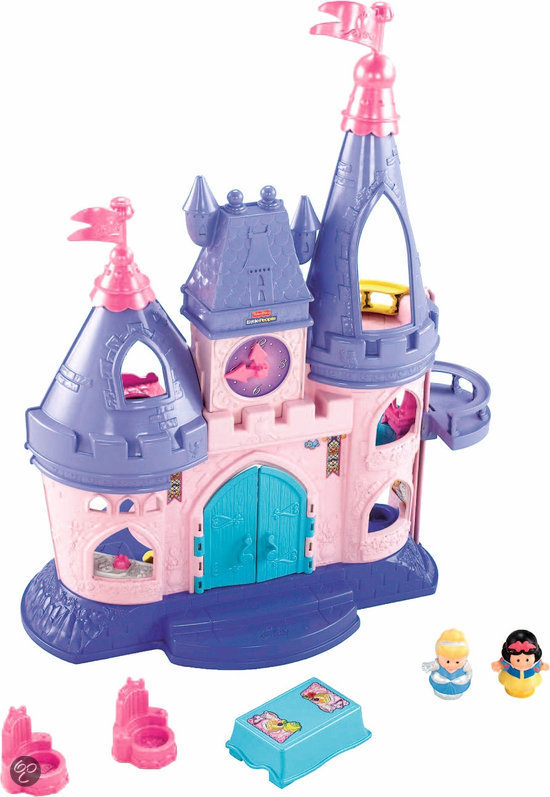 Fisher-Price Little People Disney Prinsessenliedjes Paleis Speelset