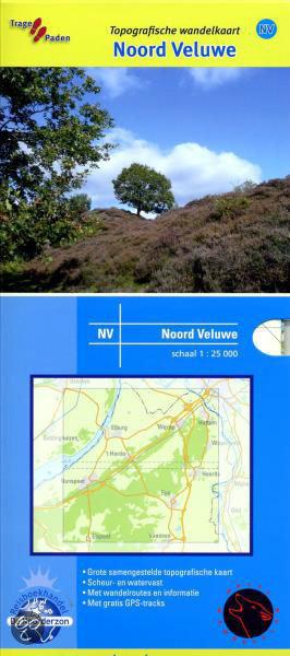 Topografische Wandelkaart / Noord-Veluwe