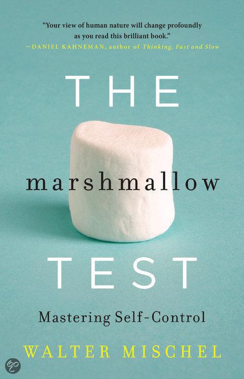 Afbeeldingsresultaat voor mischel marshmallow test boek
