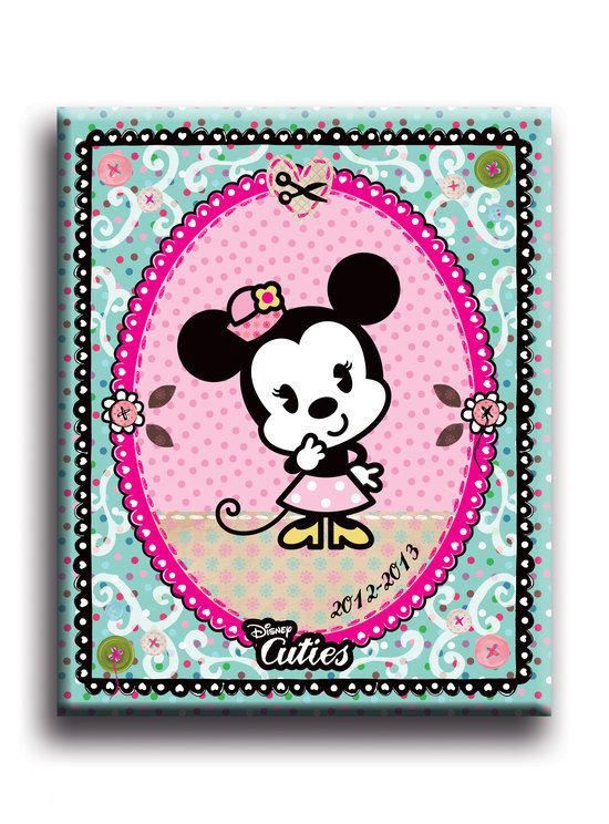 Disney Cuties schoolagenda 2012 - 2013