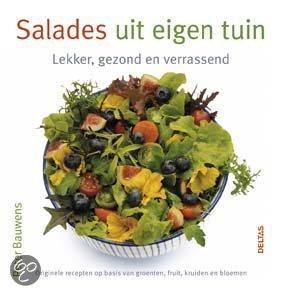 Salades uit eigen tuin