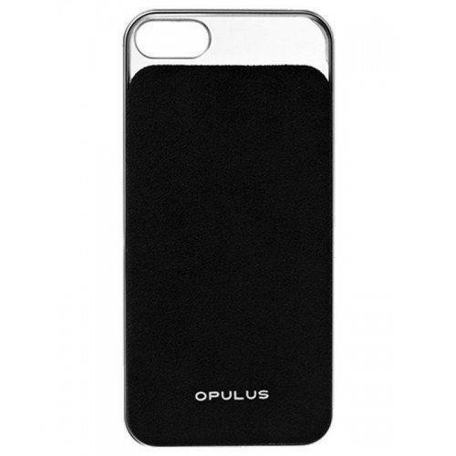 Opulus Executive iPhone 5 & 5S Black Alcantara in Schermerhorn