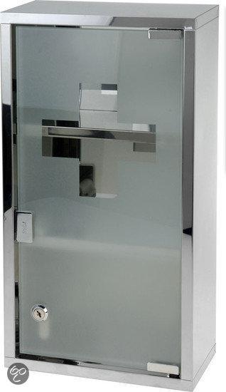 Excellent care medicijnkastje met slot for Ladenblok met slot