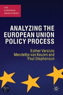 Analyzing the European Union Policy Process
