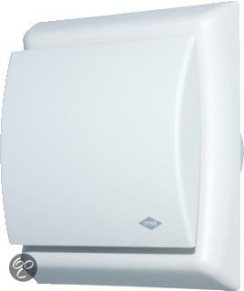 bol.com | Itho Ventilator BTV-N202H -Vochtsensor - 75m³ x ø100 mm - Wit
