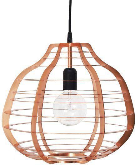 bol hkliving lab lamp xl hanglamp koper