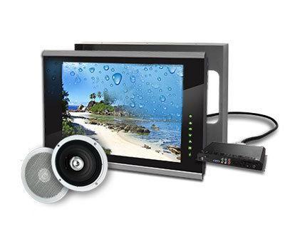 Inbouw tv waterdichte tv integreren in de muur van uw badkamer