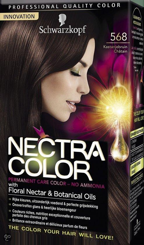 schwarzkopf nectra color 568 kastanjebruin haarverf - Nectra Color Schwarzkopf