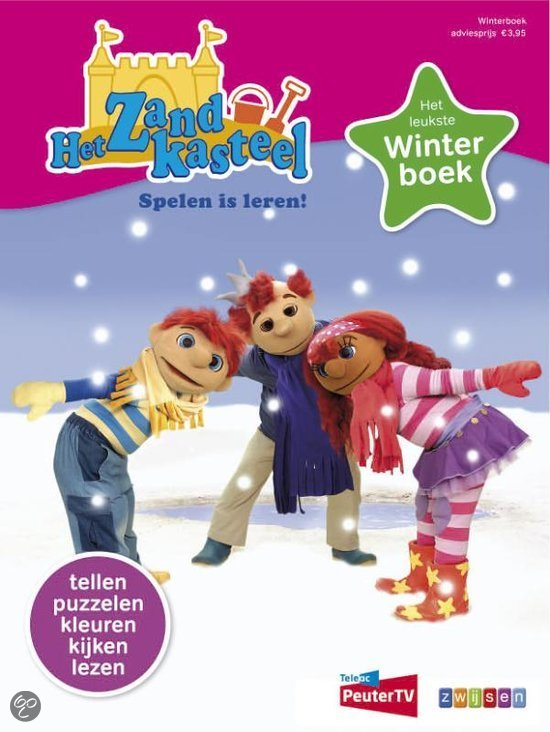 Zandkasteel winterboek