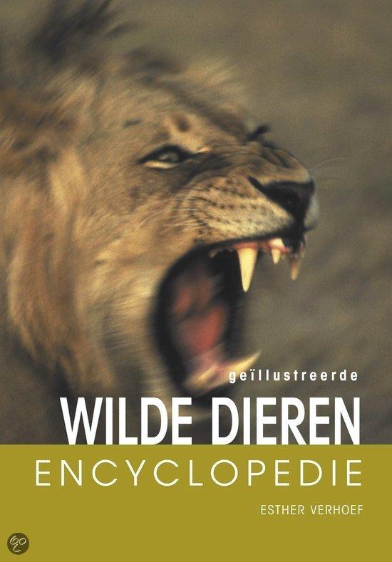 Geillustreerde wilde dieren encyclopedie