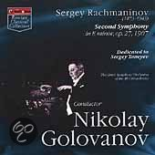 Th Great Symph. Orchestra Of The A - Second Symphony In E Minor, Op. 27