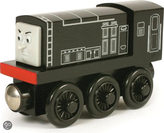 Fisher-Price - Thomas de Trein Houten Spoorbaan Diesel