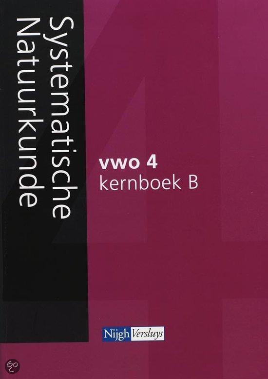 Systematische natuurkunde / vwo 4 / deel Kernboek B